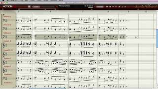 NOTION SLE Composing and Scoring Tool for Miroslav Philharmonik - Part 3/4 - Full Orchestra