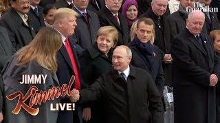 Trump Can't Control Himself Around Putin