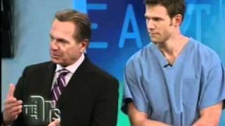 SmartSkin CO2 laser around eyelid on The Doctors