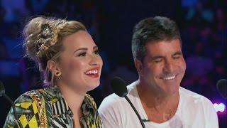 Demi Lovato and Simon Cowell - Funniest moments on The X Factor - Season 3 (3/8) LEGENDADO