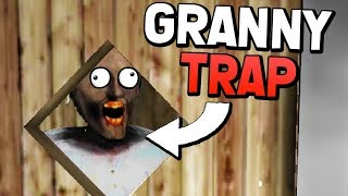 WE CAN TRAP GRANNY IN THE GARAGE! (Granny Mobile 1.4 Update Gameplay)