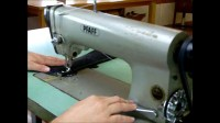 Pfaff 463 Industrial Sewing Machine with Table. Sews ...