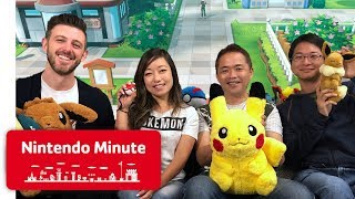 Playing Pokémon: Let's Go w/ Junichi Masuda - Nintendo Minute