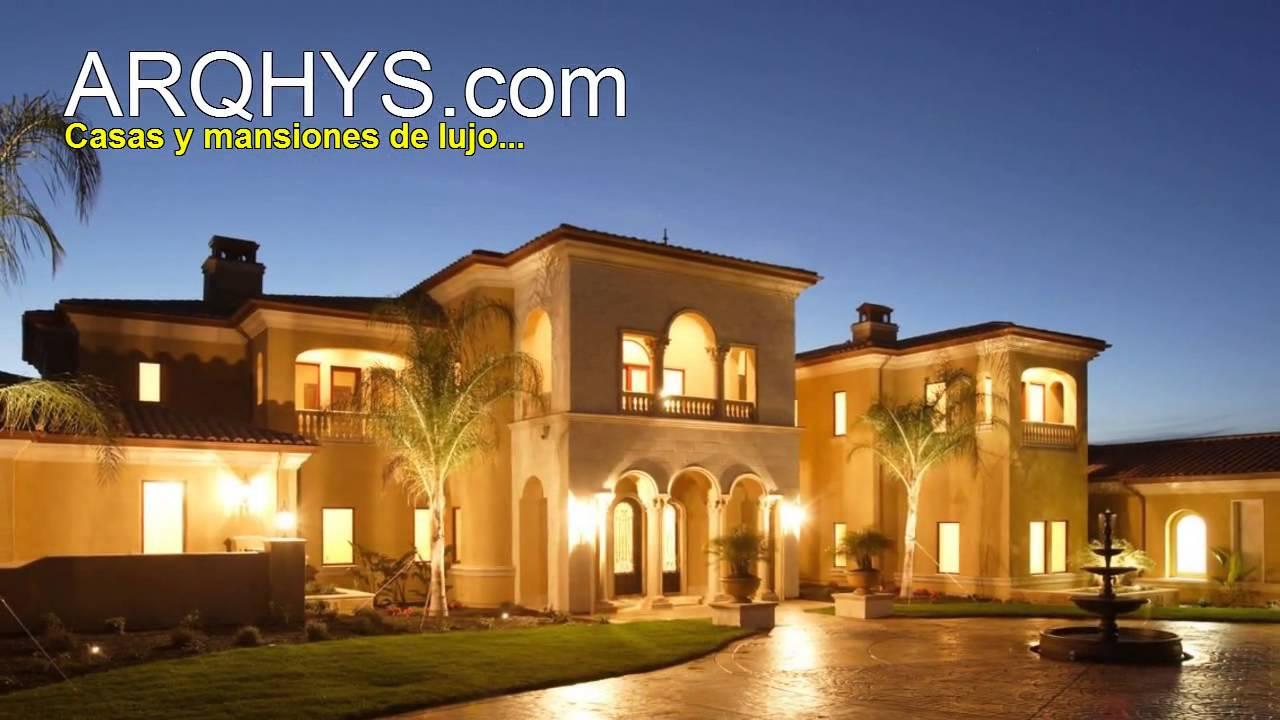 Casas y mansiones de lujo  YouTube