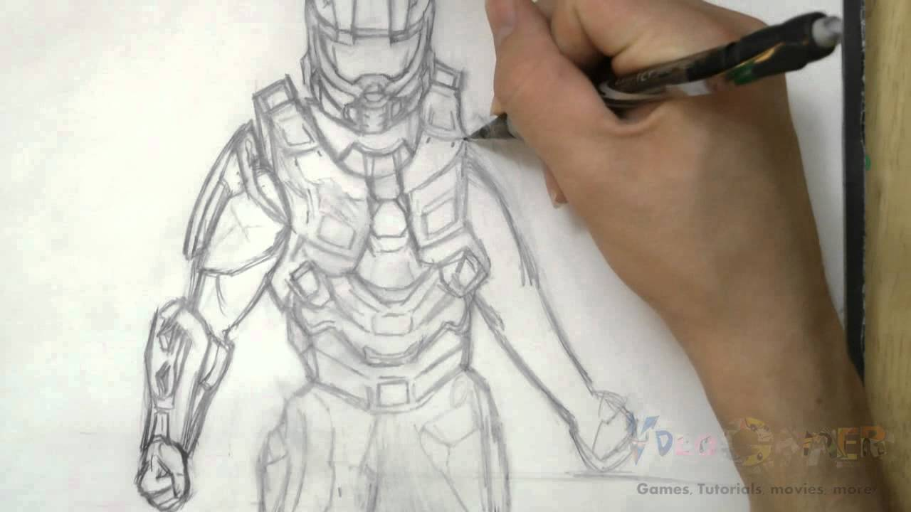 Halo Master Drawing Wings