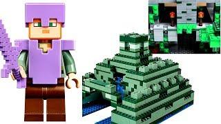 Лего Майнкрафт 2017 ОГРОМНЫЙ МИР из наборов LEGO Minecraft ВИДЕО ОБЗОР про новинки ЛЕГО для детей