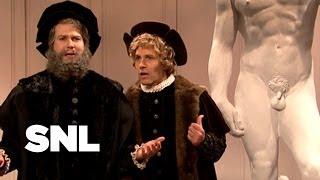 Michelangelo Unveils David - SNL