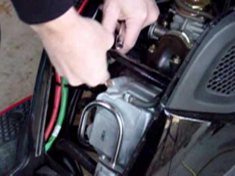 gy6 50cc wiring diagram honeywell aquastat l8148a winterizing a kymco super 8 scooter - youtube