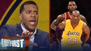 Kobe or LeBron: Jim Jackson's unique insight expels the NBA's biggest myth | FIRST THINGS FIRST