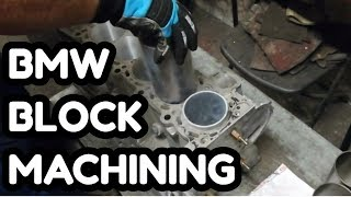 BMW M54 BLOCK machining,liners ,cylinders replacement# Engine rebuild DIY and SWAP 6