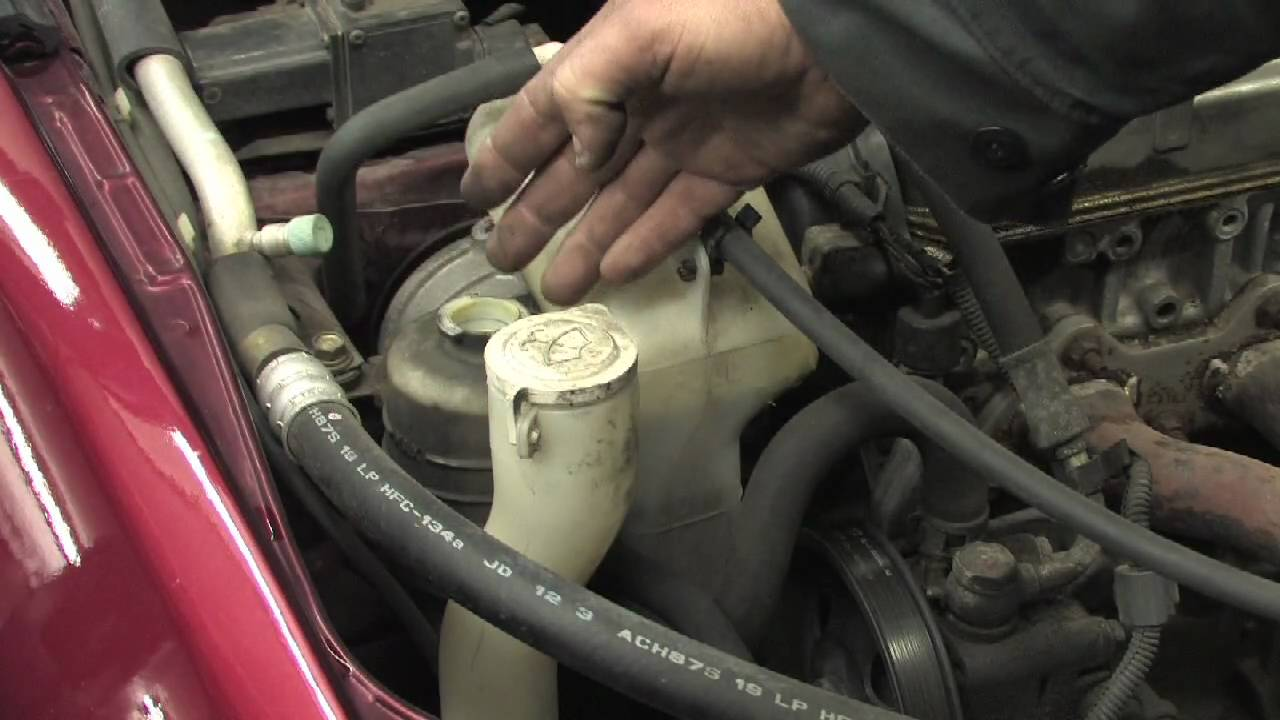 2000 kia sportage engine diagram types of process flow diagrams car maintenance : how to change power-steering fluid - youtube