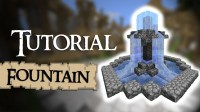 Minecraft Tutorial: How to build a small fountain - YouTube