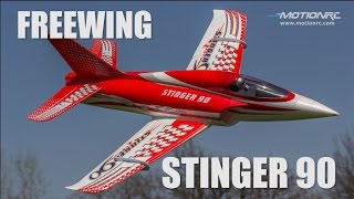Freewing Stinger 90 EDF Jet-90mm 12 Blade Fan 6s