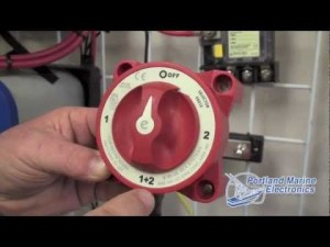 Blue Sea System Battery Switch ACR  Portland Marine Electronics  YouTube