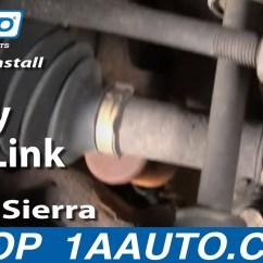 1995 Ford F150 Front Suspension Diagram Water Level Indicator Project With Circuit How To Install Replace Stabilizer Bar Link Chevy Silverado Gmc Sierra 99-06 1aauto.com - Youtube