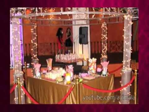 Mesa de Dulces  Snack  Candy Bar  Fiesta 15 Aos  DTallitoscom  YouTube