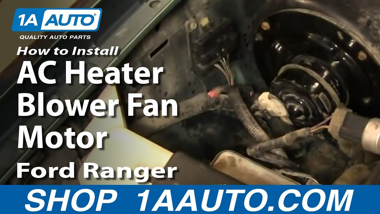 2013 Honda Accord Engine Diagram How To Install Replace Ac Heater Blower Fan Motor Ford