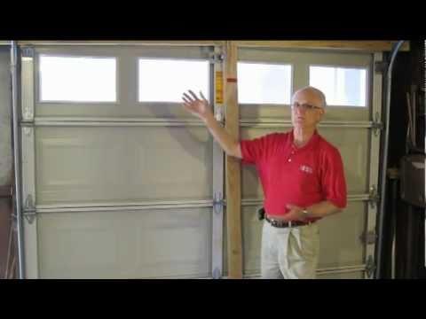 Hurricane Tip  Garage Doors  YouTube