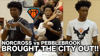 Collin Sexton & Rayshaun Hammonds Brought The City of ATL Out In FULL EFFECT!! | Norcross vs Brook
