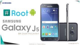 Root + TWRP Samsung J5 SM-J500F, J500FN, J500G, J500H, J500M, J500Y [6.0.1]