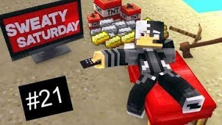 Hypixel Bedwars | Sweaty Saturday Ep. 21 (ft. JakeyGoat)