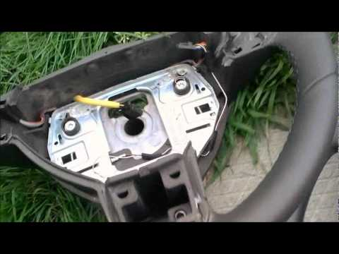 Skoda Steering Wheel Wiring Diagram Airbag Removal For An Astra H Youtube