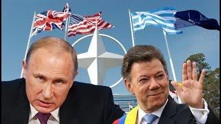 Vladimir Putin EN SHOCK Y MUY ENFADADO tras la Unión de Colombia a la OTAN