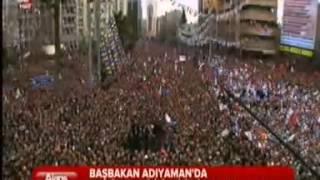 Başbakan Erdoğan, Adıyaman Miting Konuşması