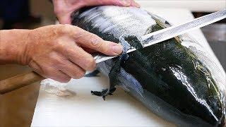 Japanese Food - YELLOWTAIL AMBERJACK Sashimi Braised Fish Kanazawa Seafood Japan