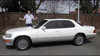 The 1990 Lexus LS 400 Was the Beginning of Lexus