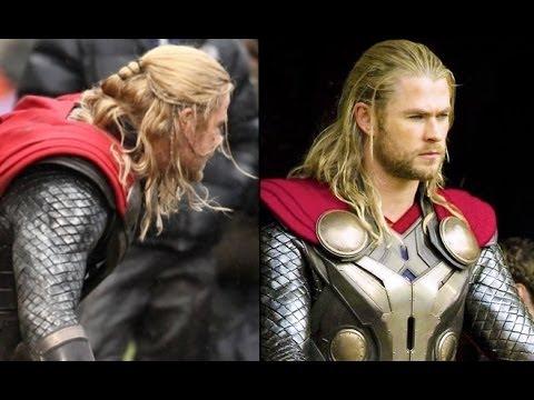 Thor The Dark World  Mens Hairstyle Tutorial  YouTube
