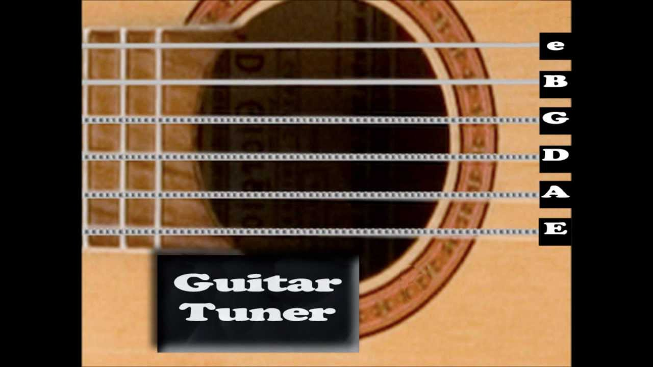 Standard Acoustic Guitar Tuner  Interactive   YouTube