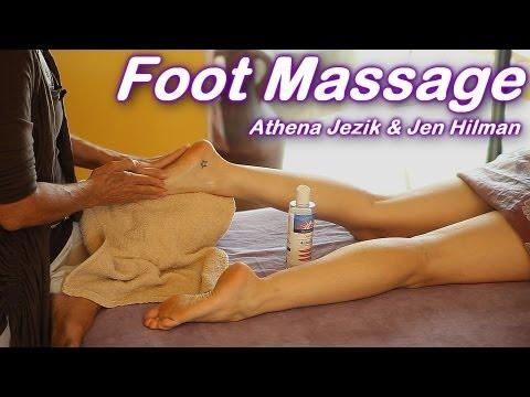 Foot Massage How To Techniques Athena Jezik  Jen Hilman
