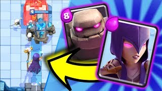 Clash Royale: Best Witch Deck! Witches Are OVERPOWERED After Update! Undefeated Golem Witch Deck!