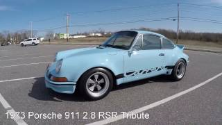 1973 Porsche 911 2.8 RSR Tribute