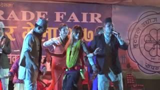 दुव्ली भइ कसरी पाउने हो घमासान दोहोरी / Live Dohori / Shiva Hamal / Nabin Paudel / Harimaya