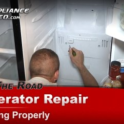 Double Door Parts Diagram Three Phase Plug Wiring Refrigerator Repair & Diagnostic- Not Cooling-warm Temperatures - Samsung Rs263tdbpxaa Youtube