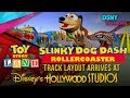 'Slinky Dog' Rollercoaster Arrives at Toy Story Land at Walt Disney World - Disney News - 5/30/17