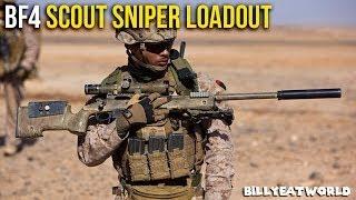 Battlefield 4 (PS4) - USMC Scout Sniper Loadout - M40A5 w