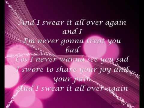 Westlife  Swear It Again (lyrics) Youtube