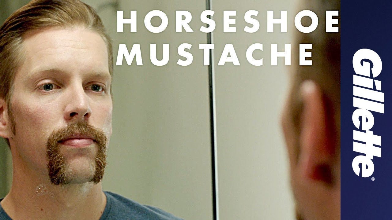 Mustache Styles How To Shave A Horseshoe Mustache