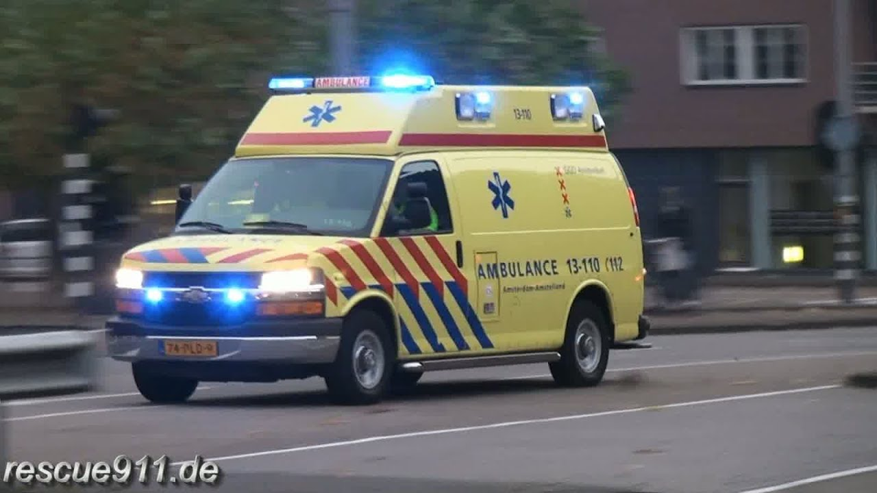 Cars Wallpaper Gta Ambulance Ggd Amsterdam Collection Youtube