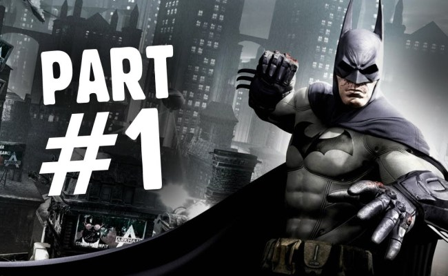Batman Arkham Origins Walkthrough Part 1 The Legend