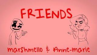 Marshmello & Anne-Marie - FRIENDS *OFFICIAL FRIENDZONE ANTHEM*