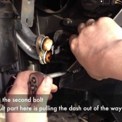 Vauxhall Astra G Wiring Diagram For Switch To Light Heater Matrix Removal With Dash In Place - Youtube