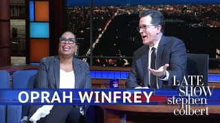 Oprah Winfrey Gets A Sign From God About 2020
