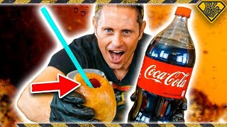 Cool Trick With Balloons and Coke