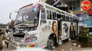 Kannur- Kozhikode First ac bus brand new snow white