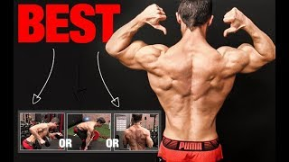 IRON FACE/OFF: Which Row is Best for Bigger Lats?