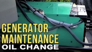 Changing the Oil in Your Onan Diesel RV Generator  YouTube